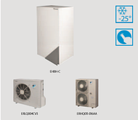Тепловой насос воздух-вода  Daikin Altherma (14.5 кВт) EHBX16CB3V / 6 CB9W  + ERLQ14CV1 (нагрев и охлаждение)