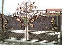 Кованые ворота  339, фото 1