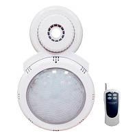 Накладной светодиодный прожектор для каркасных бассейнов с пультом ДУ, 15 Вт
