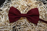 "Бордова краватка-метелик ""Sicilia"""