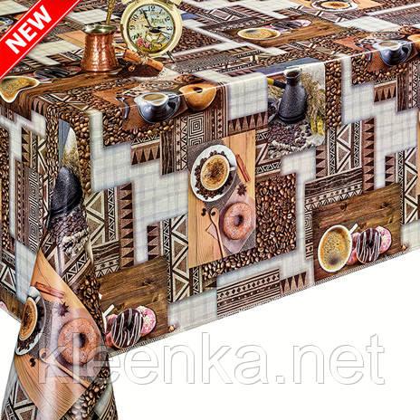 Скатерть клеёнка на стол с Абстрактным рисунком, фото 2