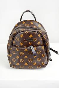 Рюкзак мини Fashion коричневый