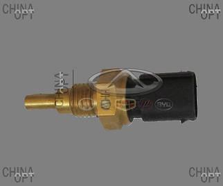 Датчик температуры охлаждающей жидкости, 3 контакта, тип DELPHI, Geely MK Cross, 1066001348, Original parts