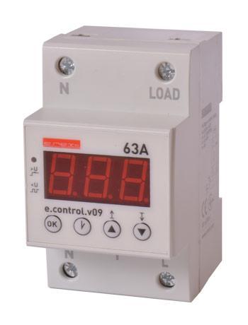 Реле контроля напряжения и тока e.control.v10 (p0690015)