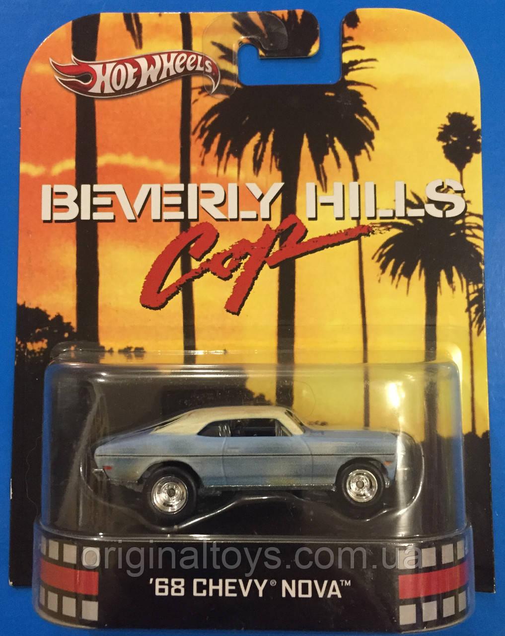 Колекційна машинка Hot Wheels 1968 Chevy Nova