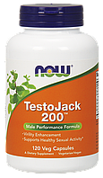 Now TestoJack 200 120 veg caps
