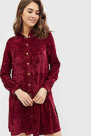 Женское вельветовое платье с кнопками спереди (Givz crd)