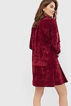 Женское вельветовое платье с кнопками спереди (Givz crd), фото 3