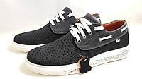 Мужские модные кожаные кроссовки Lacoste ClubShoes original , фото 1