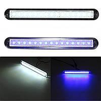 3w 12v 55lm 3200k LED свет коридор прохода лампа водонепроницаемый для яхты белый/синий