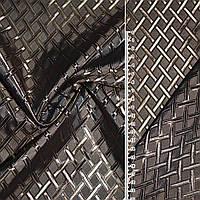 Подкладочная ткань вискоза подкладка Жаккард коричневый бежевая