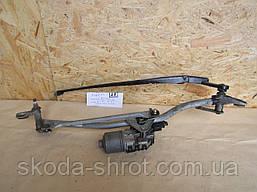 8E1955023E Трапеция механизм моторчик переднего стеклоочистителя 8E1 955 119 BOY Ауди Audi A4 B7