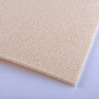 71838 - войлок (для рукоделия) 2мм ш.100 пшеничный