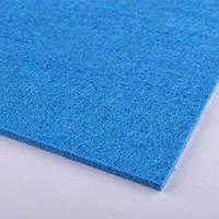 71831 - войлок (для рукоделия) 2мм ш.100 сине-голубой