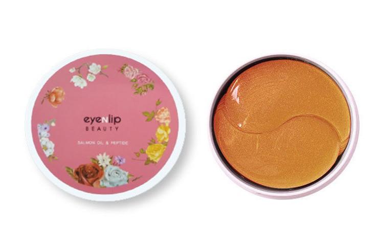 Гидрогелевые патчи с маслом лосося и пептидами EYENLIP Hydrogel Eye Patch Salmon Oil & Peptide