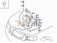 Бачок омывателя MB Sprinter/VW LT 96-06, код 8611, AUTOTECHTEILE