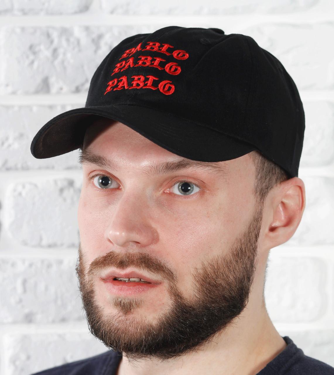 Бейсболка кепка черная весенняя Pablo, фото 1