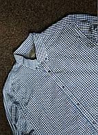 Мужская рубашка с длинным рукавом в клетку taylor&wright р-р L Оригинал (сток, б/у) original