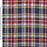 Байка фланель байковая ткань для пеленок детская фланелевая в красная синюю белая желтую клетку ш.105