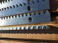Оцинкованная зубчатая рейка ROA8 для автоматизации ворот /  оцинкована зубчата рейка для автоматизації воріт
