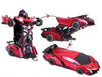 Радиоуправляемая машинка-трансформер Transforms Changeable Force Ares Lamborghini