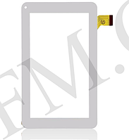 Сенсор (Touch screen) Assistant AP- 700/  710/  711/  714/  715/  719/  720 (тип 1) (186*111) белый