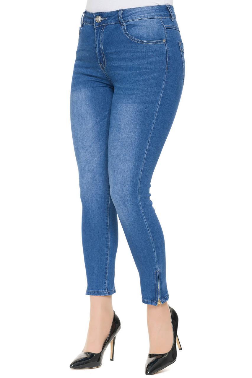 Женские джинсы больших размеров 46-62