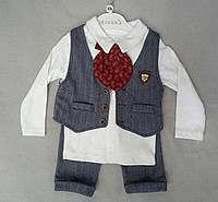 Детский костюм для мальчиков 9-18 месяцев