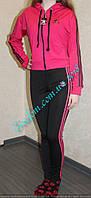 Спортивный женский костюм с укороченной кофтой, фото 1