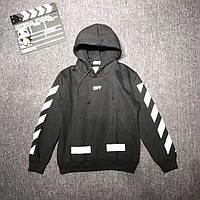 Худи Off White Black / Версия с карманом