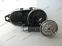 Манометр SMT-5205A металлич.в футляре KING