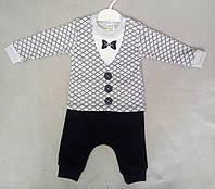 Детский костюм для мальчиков 6-12 месяцев