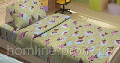 Детское постельное белье для младенцев Lotus ранфорс BoBi зеленый