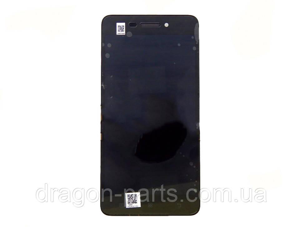 Дисплей Lenovo S60 с сенсором черный/black , оригинал 5D68C01177
