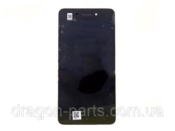 Дисплей Lenovo S60 с сенсором черный/black , оригинал 5D68C01177, фото 2
