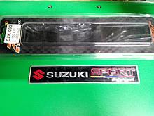 Надпись SUZUKI SPORT металл  150х25 мм