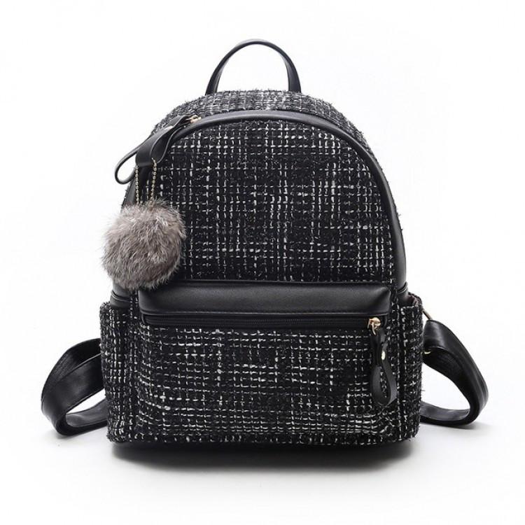 Рюкзак женский Jesse черный eps-8025