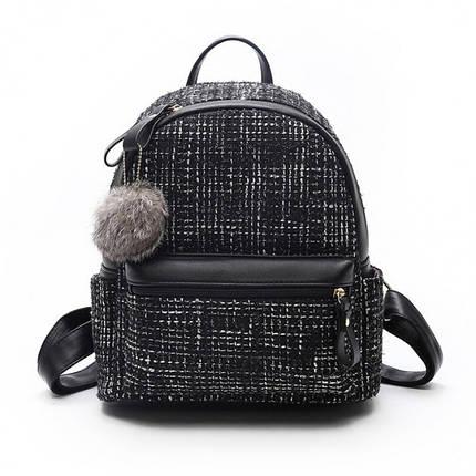 Рюкзак женский Jesse черный eps-8025, фото 2