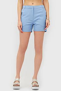 Женские коттоновые голубые шорты (JAMI crd)