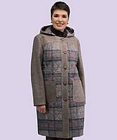 Женское кашемировое пальто. Модель 163. Размеры 48-58