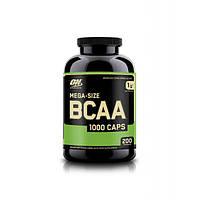 Optimum Nutrition, Бцаа BCAA 1000 Caps Mega-Size, 200 капсул
