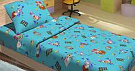 Детское постельное белье для младенцев Lotus ранфорс JiMi голубой