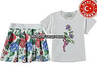 Детские летние костюмы оптом из Турции. Костюм для девочки 3,4,5,6 лет