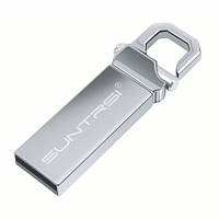 Флеш-пам'ять Suntrsi 32 ГБ USB 2.0 сірий, фото 1