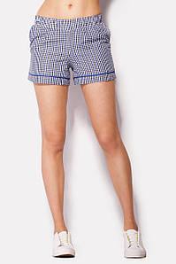 Хлопковые женские шорты в клетку (Ello crd)