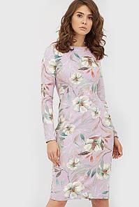 Женское замшевое платье с цветочным принтом (Riani crd)