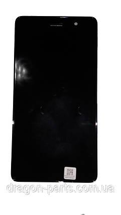 Дисплей Lenovo S860 з сенсором чорний/black , оригінал 5D69A6MW3C, фото 2