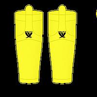 Гамаши однотонные желтые