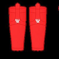 Гамаши однотонные красные