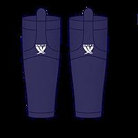 Гамаши однотонные темно-синие
